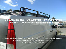 Tradesman Style Open ends Steel Roof Rack 3000x1464mm 4 MERCEDES Benz Vito LWB