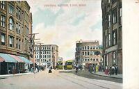 LYNN MA – Central Square – udb (pre 1908)