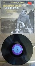 """JIM REEVES The County Side of 12"""" 33RPM w/Shrink B&W LIVING STEREO Cover, CAS686"""