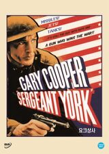 Sergeant York,1941 (DVD,All,Sealed,New,Keep Case) Howard Hawks