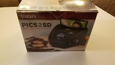ION Pics 2 SD Photo Slide & Film Scanner w SD Card