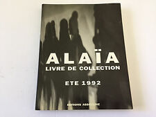 Alaia Ete 1992 Livre de Collection Editions Assouline SC Fashion Art Book