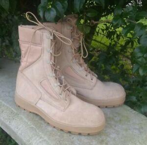 NWOB McRae Desert Tan Men's 9.5 R Hot Weather Boot Vibram Sole Military
