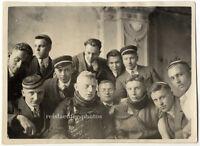 Studentikum, Mensur, Jochens 1. Partie, Original-Photo um 1925.