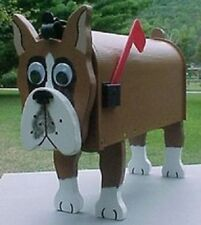 💗 Boxer Mailbox Custom Dog Mailboxes Postal Mail Box Animal Dogs Boxes Boxers