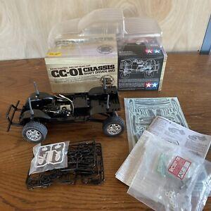 Tamiya 58616 CC01 1/10 CC01 VW Amarok EP Car Kit w/ ESC Rare Partial Built RC