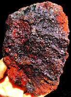 499g RARE Complete Natural Red Cuprite Azurit &Green Malachite Specimen ia2272