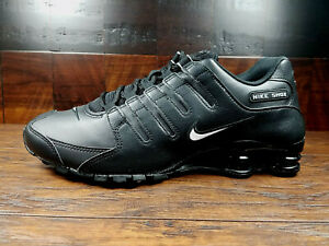 Nike SHOX NZ EU (Black / White) NSW Sportswear Retro [501524-091] Mens 8-13