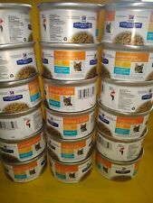 New listing Hills Science Cd ocean fish ex 2/22 chic stew 16 cans 2.9 oz free shipping