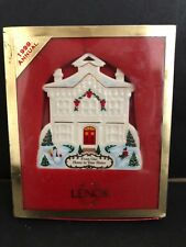 Lenox 1999 Our Home To Your Home Merry Christmas Tree Ornament
