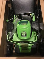 New Greenworks Pro 60-V Self-Propelled 21-in Cordless Lawn Mower (tool only)