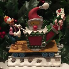 Disney GYRO GEARHOUSE DUCK Creating Presents Christmas Train Village Figure RARE