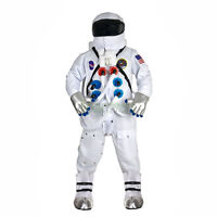 Deluxe Apollo 13 NASA Astronaut Halloween Costume Jumpsuit Adult Teen Mens 2XL