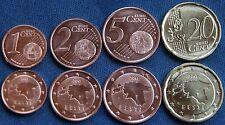 1 2 5 y 20 CENTIMOS ( EURO CENT ) ESTONIA 2017