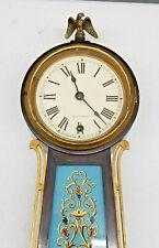 Exceptional Seth Thomas Pendulum Driven Banjo Clock Model #3-Has 2 Color Glasses