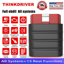 Thinkcar Thinkdriver Bluetooth Check Engine Code Reader Full System Diagnostic