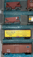 HO Scale Athearn 40' Billboard Hopper Reefer Car Train Cargo LOT 4 Box 15