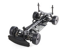 RC Blaze R2 1/10 Scale Touring Car with Unpainted Body Shell (Silver)
