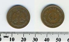 Mexico 1936 - 1 Centavo Bronze Coin - National arms