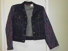 Vintage MS LEE Denim Jacket/Vest Size S (13/14) Made in U.S.A.