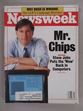 Newsweek Magazine - October 24, 1988 ~~ Steve Jobs / Apple Computer