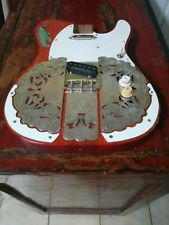 Fender Telecaster Body Style With sterling silver applications