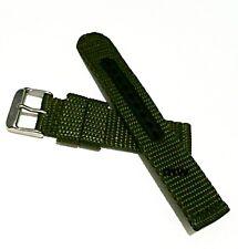 New Genuine 20mm Seiko Strap 4KC9JZ Green Nylon Strap Band Watch Original