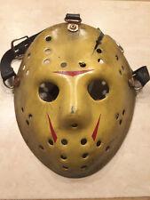 Jason Voorhees Friday the 13th Part 8 Hockey Mask - Jason Takes Manhattan!