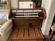 More details for electronic pipe/church organ with full size pedalboard, good for home practice