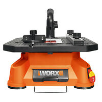 WORX WX572L BladeRunner X2 Portable Tabletop Saw with Blades & Accessories