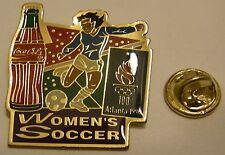 Pins coca cola Olympics ATLANTA 1996 WOMEN'S SOCCER