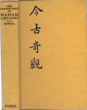 China . Classic Stories Inconstancy Madam Chuang . 1920s HC Shrp! 18 Howell