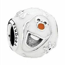 PANDORA Sterling Silver Disney Olaf Charm 791794ENMX