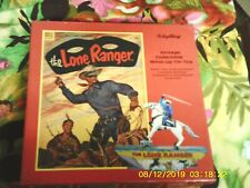THE LONE RANGER WIND UP TIN TOY- MINT