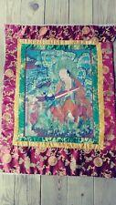 Antique Qing dynasty Chinese/Tibetan  embroidery Thangka Thanka