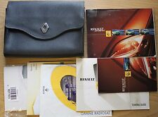 RENAULT SCENIC II OWNERS MANUAL HANDBOOK WALLET 1999-2003 PACK 11401