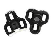 Look KEO Bi-Material Road Cycling Replacement Cleats : BLACK 0° Float (Fixed)