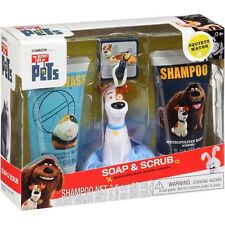 Illumination The Secret Life of Pets Soap & Scrub Gift Set, 4 pc Metro Mango