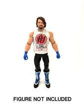 """WWE AJ STYLES """"colui che viene finita"""" maglietta personalizzata per le Figure Mattel."""