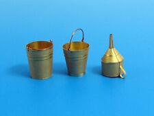 E-001, PE  Buckets & Funnel, Eureka XXL , SCALE 1/35