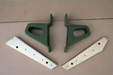 REAR SEAT BELTS BRACKETS,SUPPORT REINF PLATES H M M W V, HUMVEE M988  MILITARY