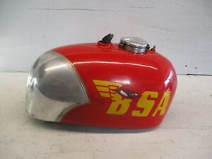 BSA Victor Aluminum Alloy Gas Fuel Tank *GS