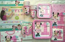 Minni Divertente To Be 1° Compleanno Festa Supply Super Kit con / Grande Banner