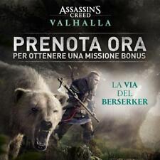 """DLC PREORDER """"LA VIA DEL BERSERKER"""" ASSASSIN'S CREED VALHALLA - PS4 + PS5 + XBOX"""