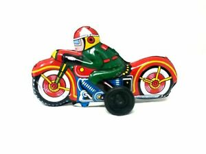 TN Japan Tin Toy Friction Police Motorcycle, (Late 50's - Early 60's)