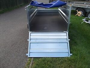 Trailer Box Double Side Camping Small Car 7FT x 4FT 2,03 x 1,12 m