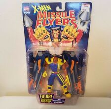 TOY BIZ X-MEN MISSILE FLYERS FUTURE BISHOP WITH TRANSFORMING WING ATTACK ARMOR