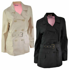 Women's Cotton Double Breasted mac Trench Coats & Jackets