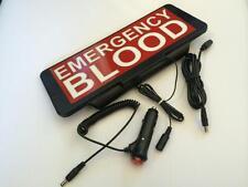 Signo de sangre de emergencia Univisor Led Visera De Control Remoto de Flash