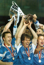 GIANFRANCO ZOLA GENUINE AUTHENTIC SIGNED CHELSEA 8X12 PHOTO AFTAL & UACC [10220]